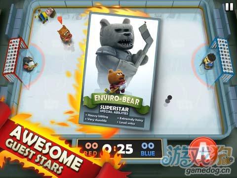 冰球运动游戏:热血冰球 简单极致的暴力冰球运动2