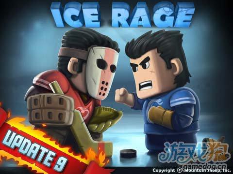 冰球运动游戏:热血冰球 简单极致的暴力冰球运动1