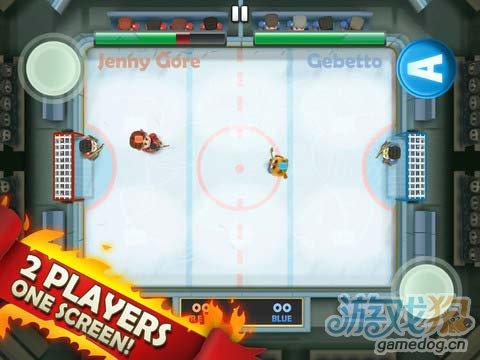 冰球运动游戏:热血冰球 简单极致的暴力冰球运动4