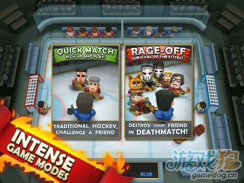 冰球运动游戏:热血冰球 简单极致的暴力冰球运动3