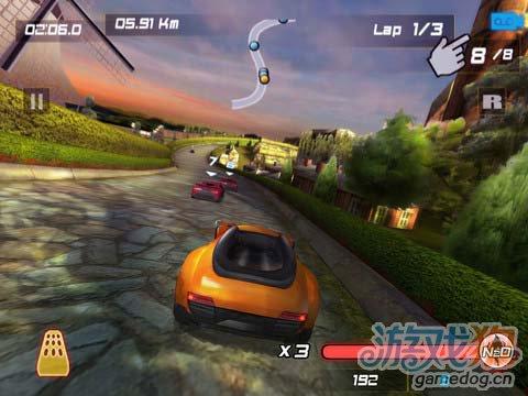 竞速游戏:巅峰狂飚 体验不一样的飙车感觉2