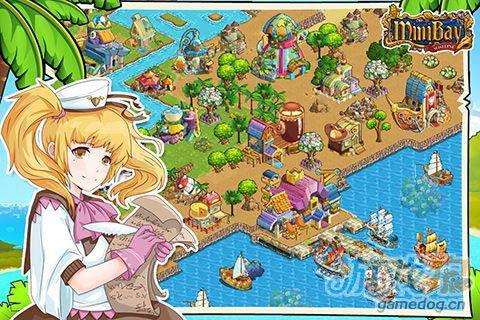 模拟经营游戏:迷你港湾 建造你的海上王国1