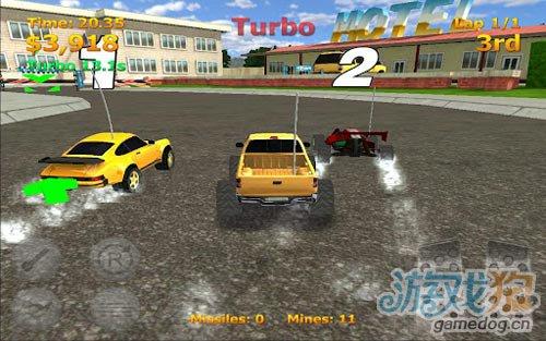 竞速游戏:迷你暴力赛车 尽情的摧毁对手1