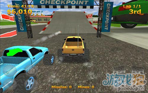 竞速游戏:迷你暴力赛车 尽情的摧毁对手4
