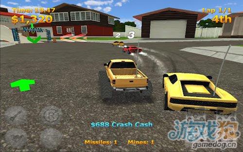 競速遊戲:迷你暴力賽車盡情的摧毀對手3