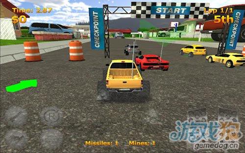 競速遊戲:迷你暴力賽車盡情的摧毀對手5