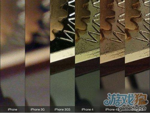 iPhone 5与前几代iPhone拍摄照片对比