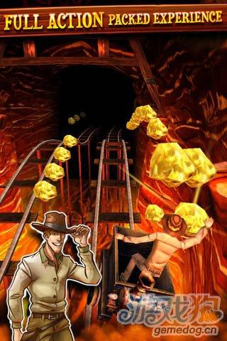 摇摆的人生不需要解释:矿路跑酷 为了宝贵的金矿2
