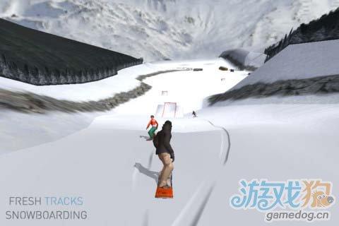 滑雪竞技游戏:滑雪达人 极速飞驰在皑皑白雪之中4