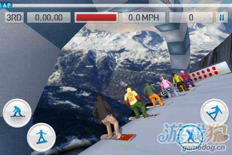 滑雪竞技游戏:滑雪达人 极速飞驰在皑皑白雪之中5