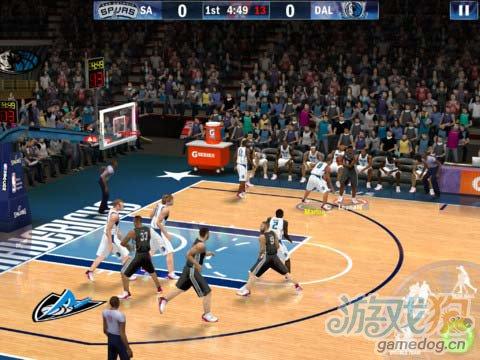 球迷盛事:NBA 2K13 没有对手依然高品质1