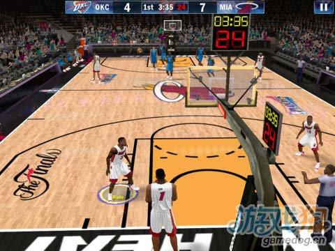 球迷盛事:NBA 2K13 没有对手依然高品质5