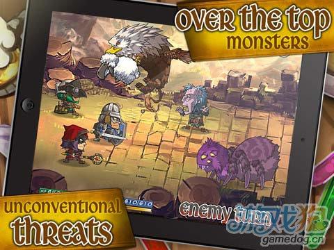 有点恶搞的策略RPG游戏:掠夺之旅 来尽情掠夺财宝4