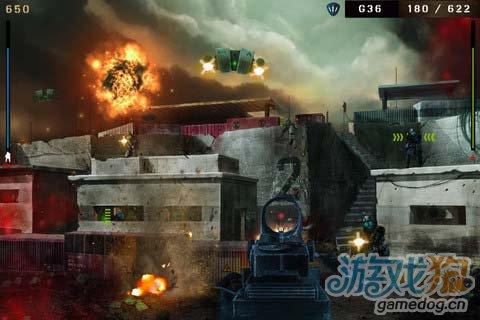 射击游戏:枪林弹雨 枪火中的战争荣耀1