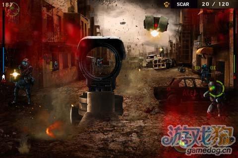 射击游戏:枪林弹雨 枪火中的战争荣耀3