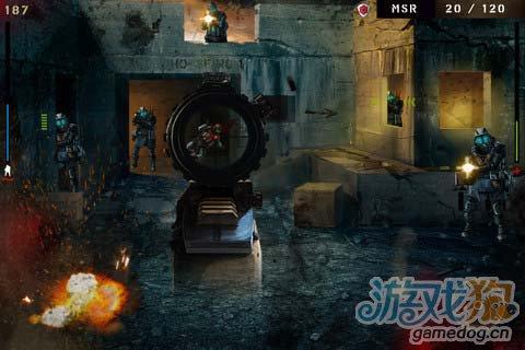 射击游戏:枪林弹雨 枪火中的战争荣耀5