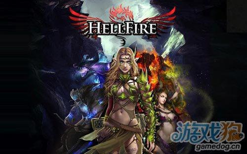 画面绚丽的休闲游戏:地狱之火 对抗恶魔1