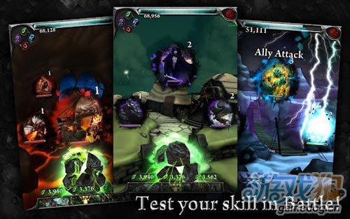 画面绚丽的休闲游戏:地狱之火 对抗恶魔3