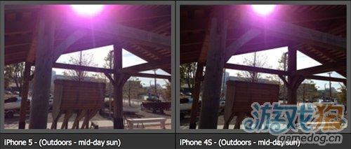 回应iPhone 5照相出现紫色光问题