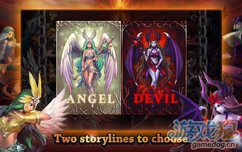 画面不错塔防游戏:天使与魔鬼 正义与邪恶的较量2