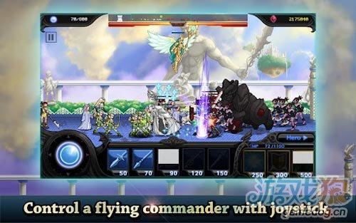 画面不错塔防游戏:天使与魔鬼 正义与邪恶的较量4