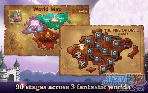 画面不错塔防游戏:天使与魔鬼 正义与邪恶的较量3