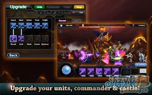 画面不错塔防游戏:天使与魔鬼 正义与邪恶的较量5