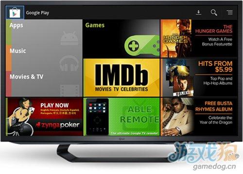 Google TV和Play实现互通 共享娱乐软件