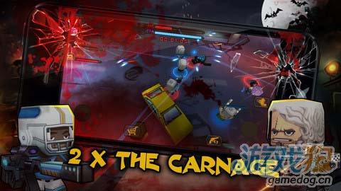 动作游戏:迷你召唤并肩作战 暴力射击3