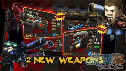 动作游戏:迷你召唤并肩作战 暴力射击1