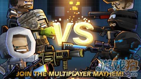 动作游戏:迷你召唤并肩作战 暴力射击5
