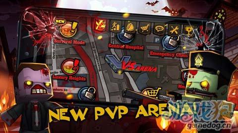 动作游戏:迷你召唤并肩作战 暴力射击4