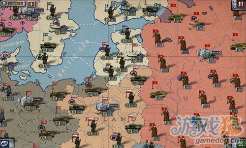 二战背景策略游戏:欧陆战争2 改变历史2