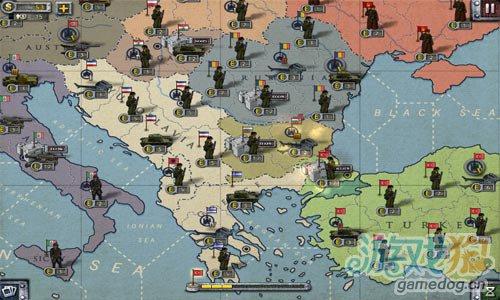 二战背景策略游戏:欧陆战争2 改变历史4