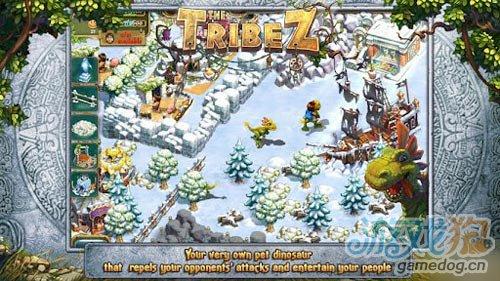 Game Insight安卓发布养成类游戏 The Tribez部落2