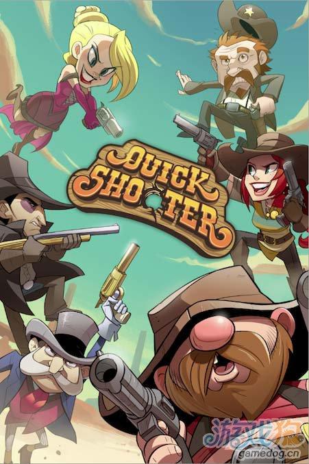美国西部背景游戏Quick Shooter 将近期发布1