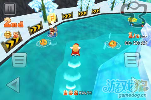 趣味竞速游戏:划艇大冲刺 超越一切对手5