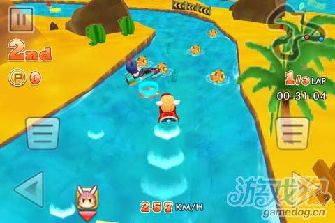 趣味竞速游戏:划艇大冲刺 超越一切对手3
