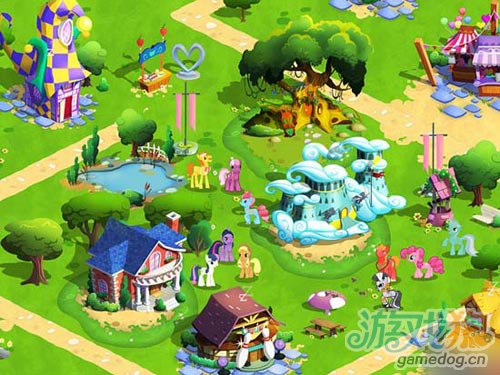萌物大集合Gameloft释出我的小马驹游戏截图3