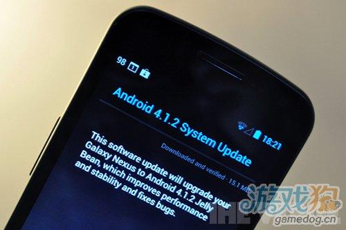 Galaxy Nexus和Nexus S获4.1.2 OTA推送