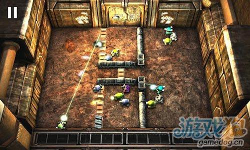 安卓射击游戏:坦克英雄之激光战争 消灭所有敌人2