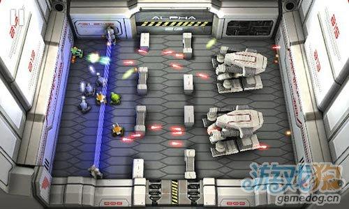 安卓射击游戏:坦克英雄之激光战争 消灭所有敌人3