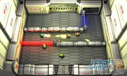 安卓射击游戏:坦克英雄之激光战争 消灭所有敌人5