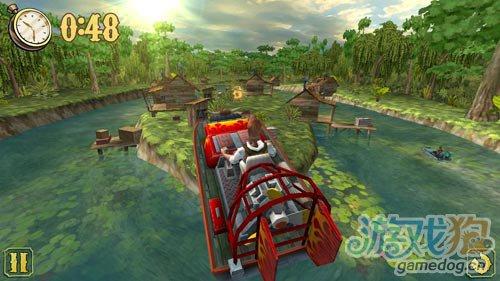 安卓赛艇类游戏:阳光快艇 在河流间穿梭4