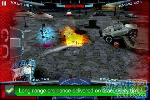 科幻射击游戏:复仇电魂拯救 保卫地球3