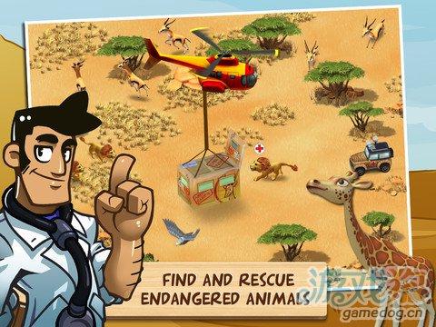 模拟经营类游戏:奇趣动物园动物救助3