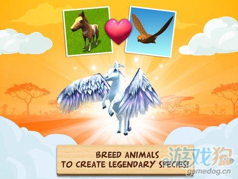 模拟经营类游戏:奇趣动物园动物救助4