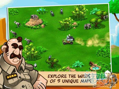 模拟经营类游戏:奇趣动物园动物救助2