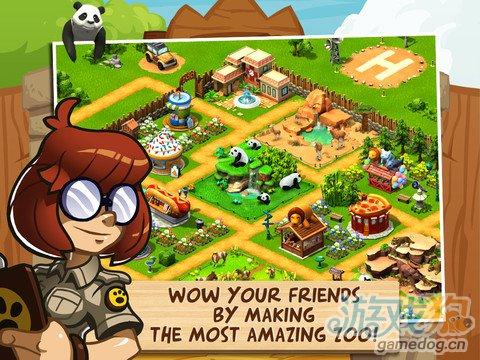 模拟经营类游戏:奇趣动物园动物救助5