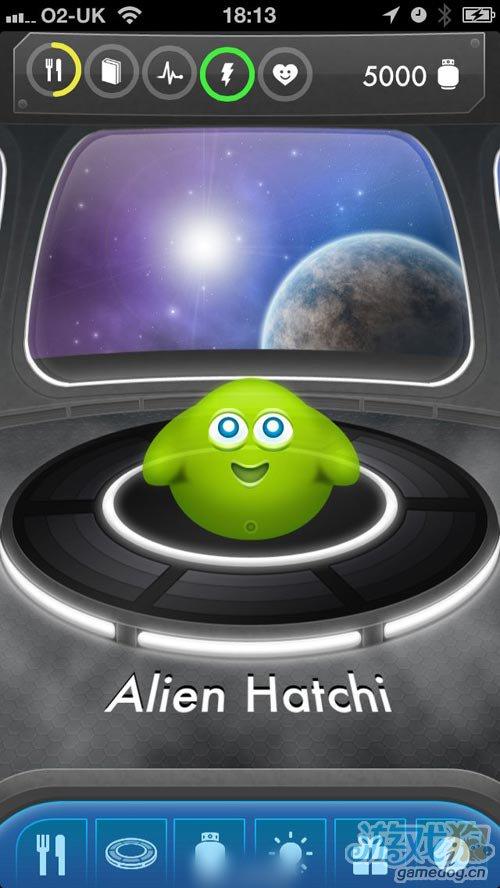 未来派外星电子宠物 Alien Hatchi 与时俱进2